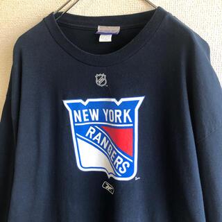 Reebok - リーボック ニューヨーク レンジャース NHL ロンT