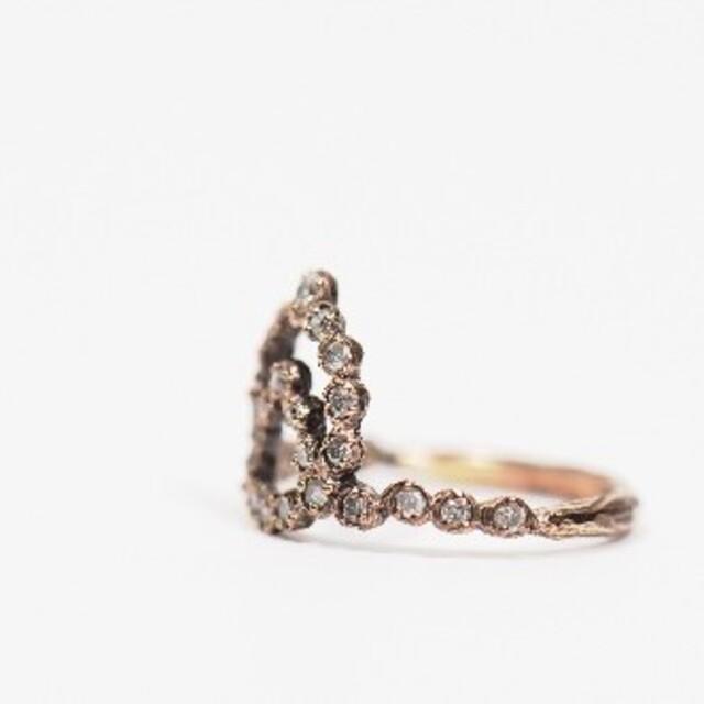 最終お値下げ noguchi ノグチ ダイヤモンドリング レディースのアクセサリー(リング(指輪))の商品写真