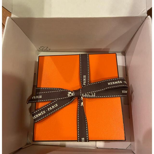 Hermes(エルメス)のエルメス ループ ピアス シルバー 新品 未使用 専用の箱付き レディースのアクセサリー(ピアス)の商品写真