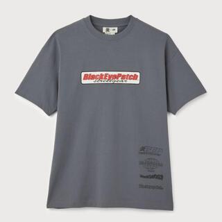 エイチアンドエム(H&M)のBlackEyePatchコラボTシャツ(Tシャツ/カットソー(半袖/袖なし))
