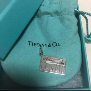 Tiffany & Co. - ティファニー ハワイ限定 チャーム ポストカード 新品未使用