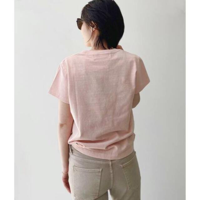 L'Appartement DEUXIEME CLASSE(アパルトモンドゥーズィエムクラス)のアパルトモン【REMI RELIEF/レミレリーフ】Compact T-sh レディースのトップス(Tシャツ(半袖/袖なし))の商品写真
