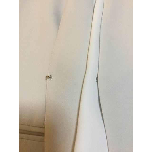 Theory luxe(セオリーリュクス)のtheory luxe  19SS LIFT ノーカラージャケット ベージュ レディースのジャケット/アウター(ノーカラージャケット)の商品写真