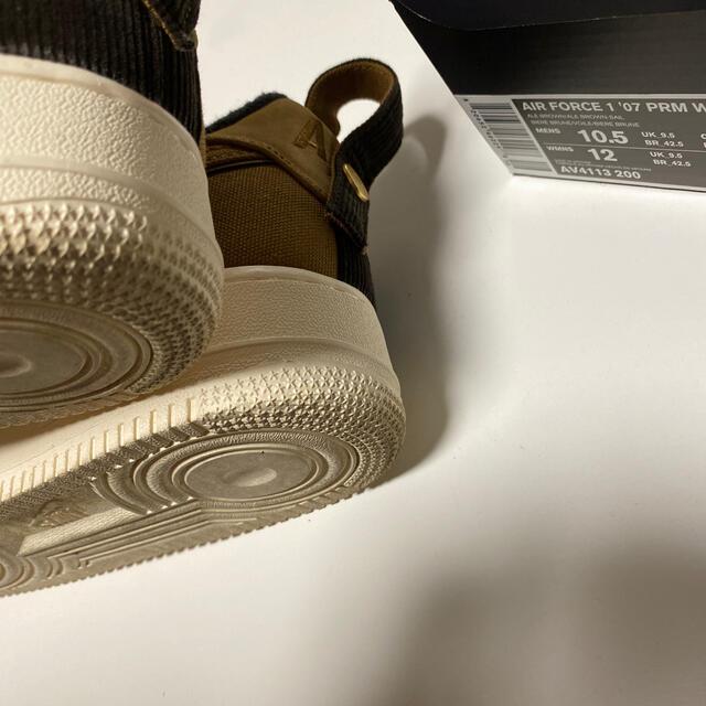 NIKE(ナイキ)のCarhartt AIR FORCE 1 PRM WIP メンズの靴/シューズ(スニーカー)の商品写真