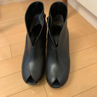 イッセイミヤケ(ISSEY MIYAKE)のイッセイミヤケ ショートブーツ(080)(ブーツ)