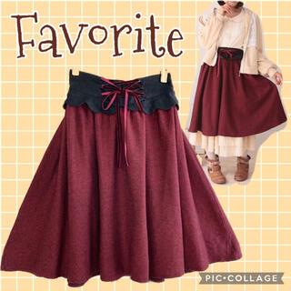 Favorite - favorite ヘリンボーンスカート