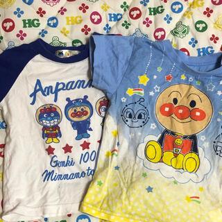 アンパンマン - アンパンマン Tシャツ 90 おまけ付 暗闇で光る