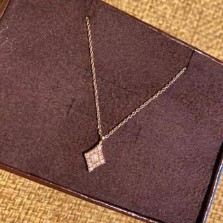 agete - ベルシオラ k18 ネックレス ダイヤモンド