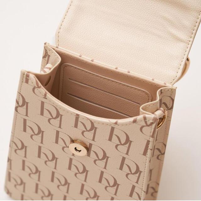 eimy istoire(エイミーイストワール)のダーリッチ Darich ノベルティ DR ミニマル チェーンバッグ バッグ レディースのバッグ(ショルダーバッグ)の商品写真