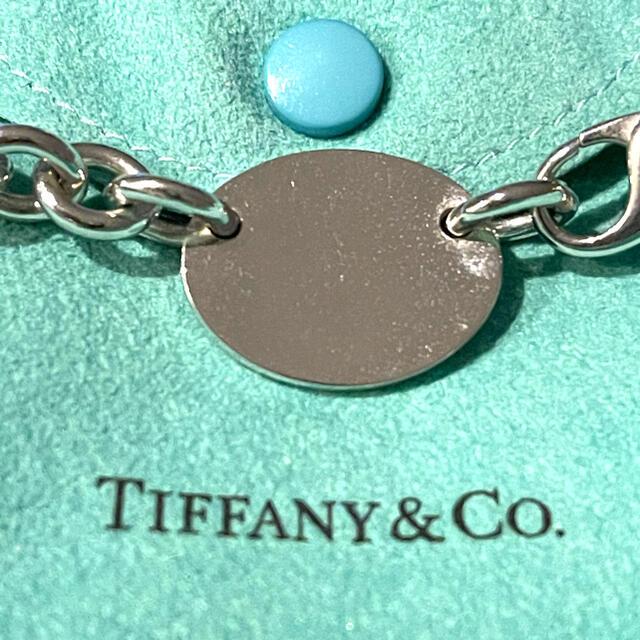 Tiffany & Co.(ティファニー)の未使用 ティファニー リターントゥオーバルタグ ネックレス レディースのアクセサリー(ネックレス)の商品写真
