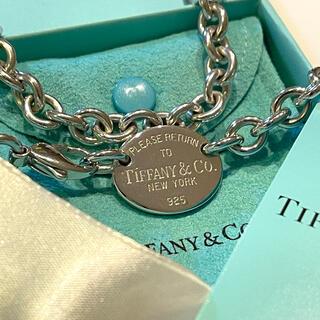 Tiffany & Co. - ティファニー リターントゥオーバルタグ ネックレス