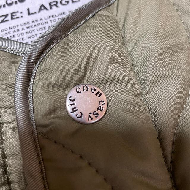 coen(コーエン)のcoen☆キルティングコート レディースのジャケット/アウター(ノーカラージャケット)の商品写真
