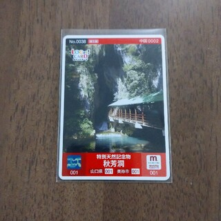 ロゲットカード 特別天然記念物 秋芳洞、他(印刷物)