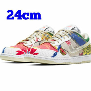 NIKE - 早い者勝ち NIKE DUNK LOW CITY MARKET 24㎝