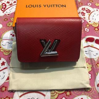 ルイヴィトン(LOUIS VUITTON)のヴィトン エピ ポルトフォイユ・ツイストコンパクト M64413(財布)
