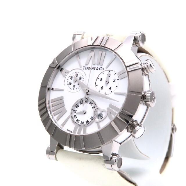 Tiffany & Co.(ティファニー)の【TIFFANY&Co.】ティファニー 時計'アトラスクロノグラフ' ☆極美品☆ レディースのファッション小物(腕時計)の商品写真