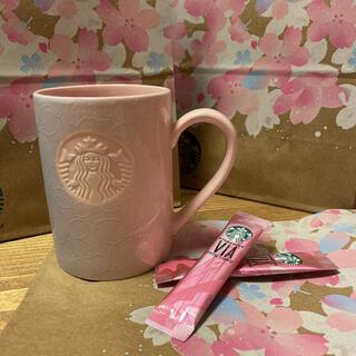 Starbucks Coffee - 【新品・未使用】スタバ 桜マグカップ