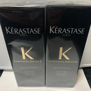 KERASTASE - ケラスターゼ ユイルドパルファンクロノロジストオイル2本セット