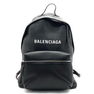 Balenciaga - バレンシアガ エブリデイ バッグパック レザー リュック