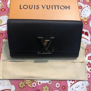 ルイヴィトン(LOUIS VUITTON)のルイヴィトン 長財布 カプシーヌ ダミエ モノグラム ポルトフォイユ(ショルダーバッグ)