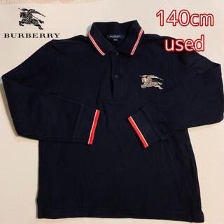 BURBERRY - ラガーシャツ ポロシャツ バーバリー 130 140 ロンT