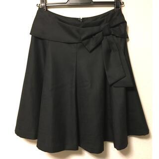 ボンメルスリー(Bon merceie)のフレアスカート(ひざ丈スカート)