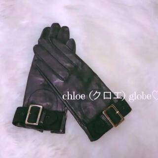 Chloe - 新品♡ chloe (クロエ レザー グローブ ブラック 手袋  送料無料