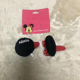 ディズニー(Disney)のミニーちゃん ヘアクリップ(バレッタ/ヘアクリップ)