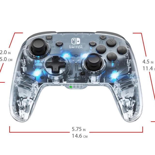 Switch スイッチ ワイレス Pro コントローラー [並行輸入品] エンタメ/ホビーのゲームソフト/ゲーム機本体(その他)の商品写真