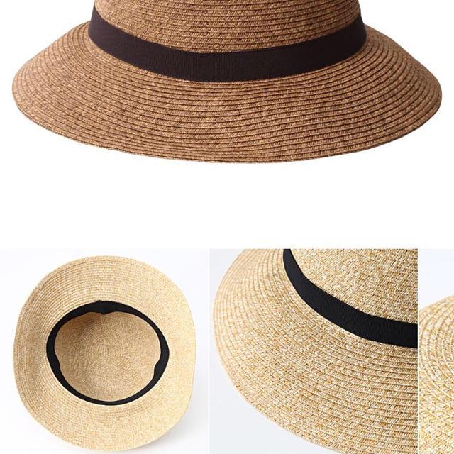 MUJI (無印良品)(ムジルシリョウヒン)の無印 キャペリンハット レディースの帽子(麦わら帽子/ストローハット)の商品写真