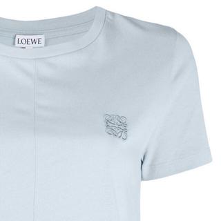 LOEWE - 【新品】LOEWE アナグラム ワンポイント ロゴ Tシャツ ライトブルー S