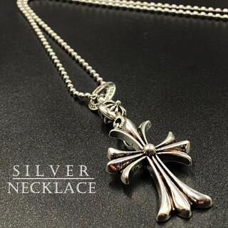 ネックレス クロス デザイン シルバー アクセサリー 十字架 273A F