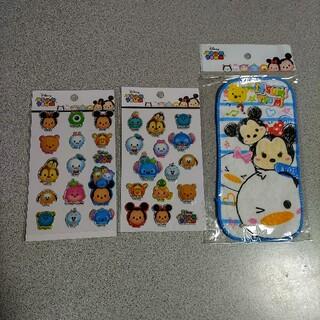 Disney - Disney ポケタオル キラキラプックリシール