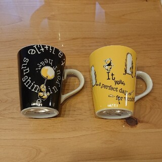 クマノプーサン(くまのプーさん)のくまのプーさん ペアマグカップ(グラス/カップ)