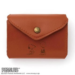 タカラジマシャ(宝島社)のSNOOPY 三つ折り財布 BOOK BROWN(財布)