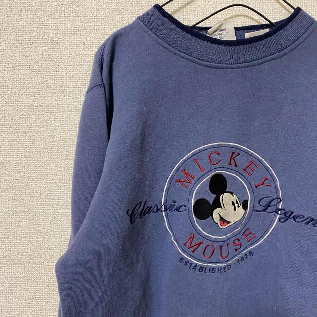 Disney(ディズニー)のビンテージ*ミッキー*古着*スエット メンズのトップス(スウェット)の商品写真