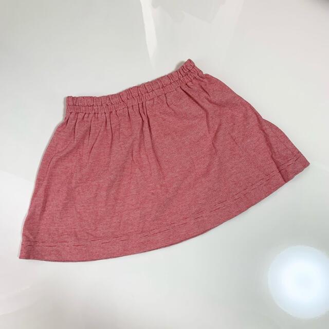 familiar(ファミリア)のdafu様専用♡ファミリア Tシャツ&スカート セットアップ90センチ キッズ/ベビー/マタニティのキッズ服女の子用(90cm~)(Tシャツ/カットソー)の商品写真