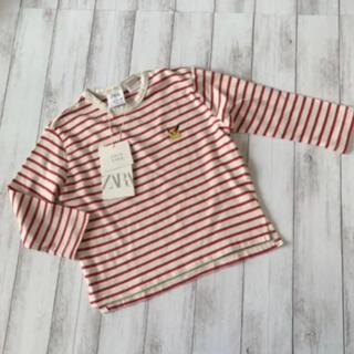 ザラ(ZARA)のZARA baby ボーダーカットソー(Tシャツ)