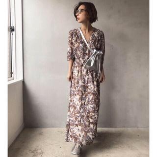 Ameri VINTAGE - AMERI GARDEN CHIFFON DRESS