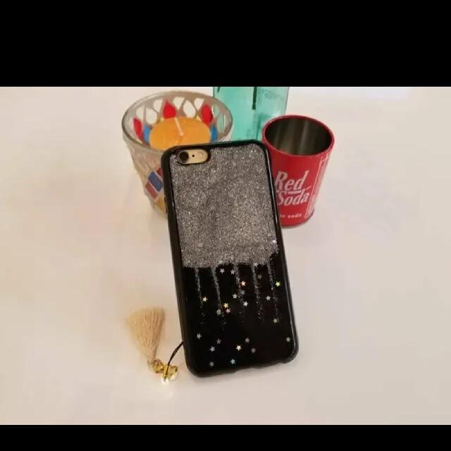 iPhoneケース 送料無料 シルバー プレセント 人気 可愛い スマホ/家電/カメラのスマホアクセサリー(iPhoneケース)の商品写真
