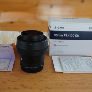 SIGMA - SIGMA 30mm F1.4 DC DN ソニーEマウント用
