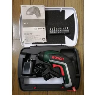 ボッシュ(BOSCH)のボッシュ(BOSCH) 電動ドライバー ビット10本 充電器・ケース付 IXO5(工具)