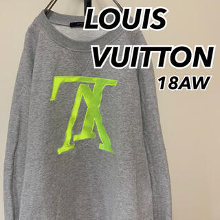 LOUIS VUITTON - 18AW 国内正規 ルイヴィトン アップサイドダウン LV スウェット XL