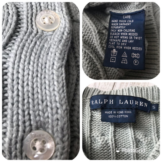Ralph Lauren(ラルフローレン)の♡ラルフローレン ケーブル編みカーディガン♡ レディースのトップス(カーディガン)の商品写真