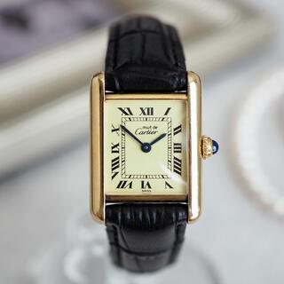 Cartier - 極美品*カルティエ マストタンク SM クォーツ*ロレックス トゥモローランド