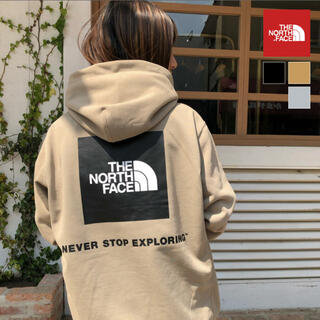 THE NORTH FACE - THE NORTH FACE バックスクエアロゴフーディ