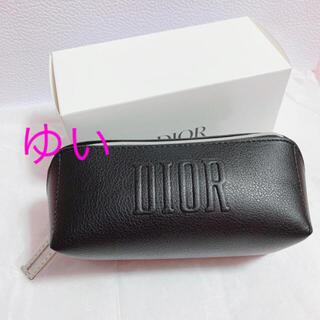 Dior - ディオールスクエアポーチブラック黒ノベルティオファー新品未使用限定品非売品