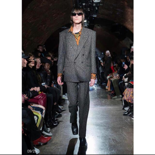 JOHN LAWRENCE SULLIVAN(ジョンローレンスサリバン)のサリバン セットアップ レオパード メンズのスーツ(セットアップ)の商品写真