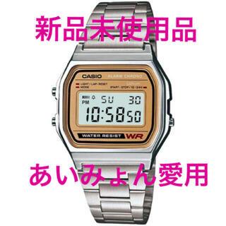 カシオ(CASIO)のCASIO 腕時計 スタンダード A-158WEA-9JF 新品 チプカシ(腕時計(デジタル))
