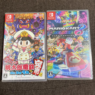 Nintendo Switch - 【新品未開封 2点セット】マリオカート8 桃太郎電鉄